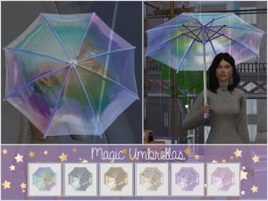 Magic Umbrellas For The Seasons (Standalone item)